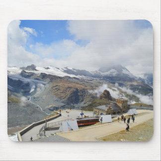 Mousepad Estação de Gornergrat na suiça