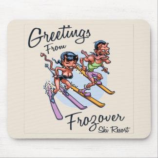 Mousepad Estância de esqui de Frozover