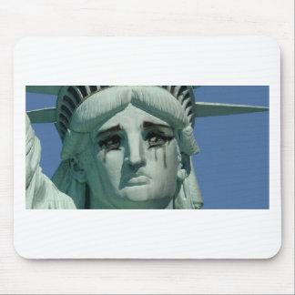 Mousepad Estátua da liberdade de grito