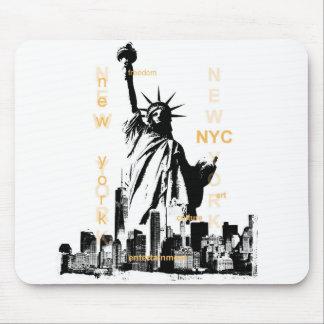 Mousepad Estátua da liberdade de Ny Nyc da Nova Iorque