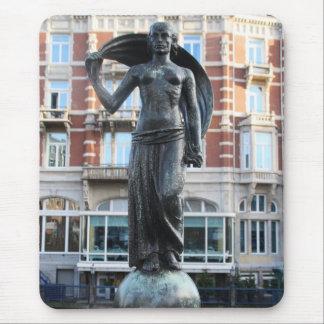 Mousepad Estátua da senhora Fortuna, Amsterdão