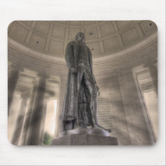 Mousepad Estátua de bronze memorável de Thomas Jefferson