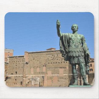 Mousepad Estátua de Trajan em Roma, Italia