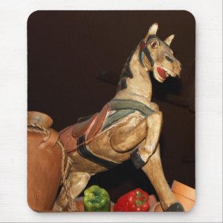Mousepad Estátua e decoração do cavalo na foto mexicana do