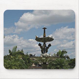 Mousepad Estatuto em jardins de Hollis