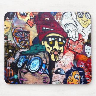 Mousepad Esteira do rato da arte/grafites da rua de