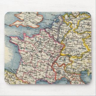 Mousepad Esteira do rato da Europa Central do mapa do