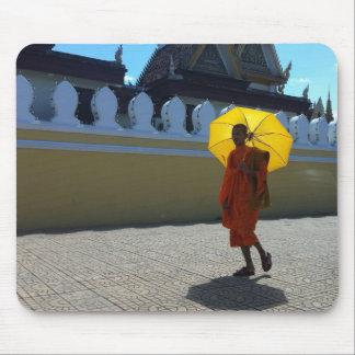 Mousepad Esteira do rato da monge budista