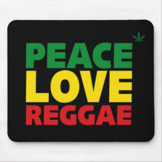 Mousepad Esteira do rato da reggae