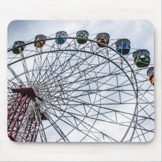 Mousepad Esteira do rato da roda de Luna Park Ferris