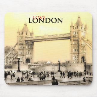 Mousepad Esteira do rato de Londres do amor