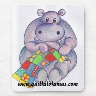 Mousepad Esteira do rato de Quiltalotamus