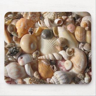 Mousepad Esteira tropical do rato da variedade do Seashell