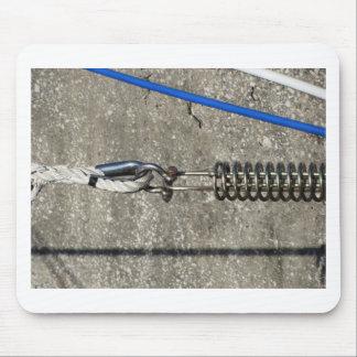 Mousepad Estilingue da corda com o grilhão de âncora da
