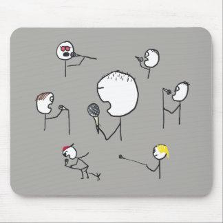 Mousepad Estilos do microfone