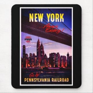 Mousepad Estrada de ferro de Pensilvânia do vintage a New