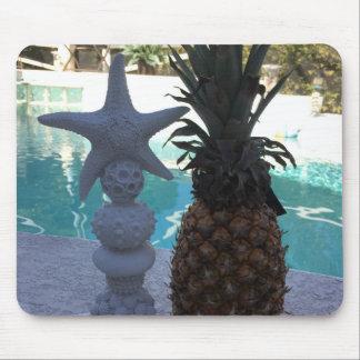 Mousepad Estrela do mar e abacaxis