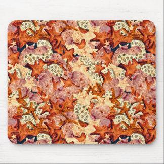 Mousepad Estrela do mar e seashells