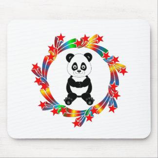 Mousepad Estrelas da panda