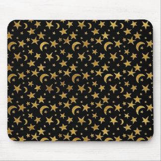 Mousepad Estrelas e luas