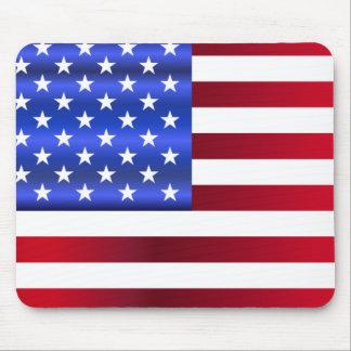 Mousepad Estrelas patrióticas bonito & listras