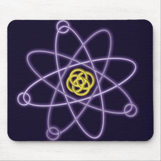 Mousepad Estrutura atômica do ouro e da prata