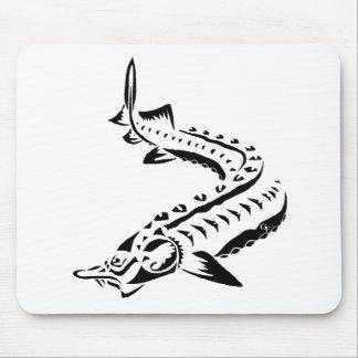 Mousepad Esturjão tribal - beluga de Huso