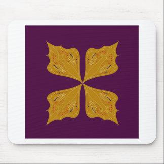 Mousepad Ethno do vinho do ouro da mandala do design