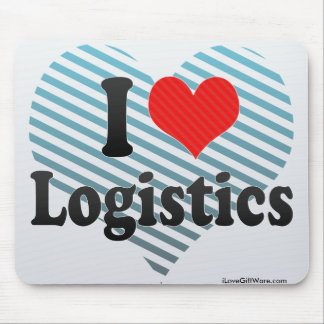 Mousepad Eu amo a logística