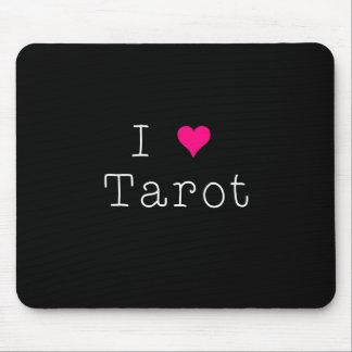Mousepad Eu amo a obscuridade do tapete do rato de Tarot