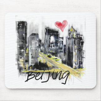 Mousepad Eu amo Beijing
