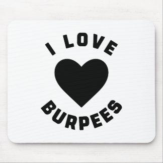 Mousepad Eu amo Burpees