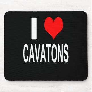 Mousepad Eu amo Cavatons Mousepad, Cavaton