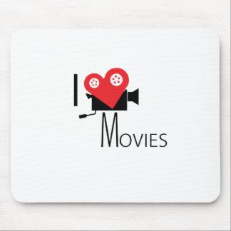 MOUSEPAD EU AMO FILMES