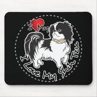 Mousepad Eu amo meu cão de Shih Tzu