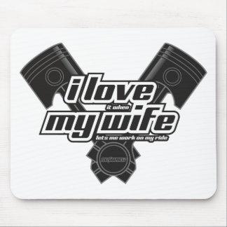 Mousepad Eu amo minha esposa - PASSEIO