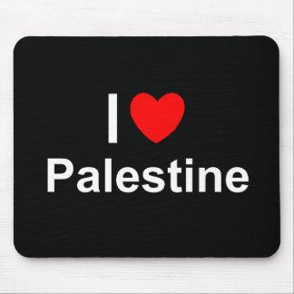 Mousepad Eu amo o coração Palestina