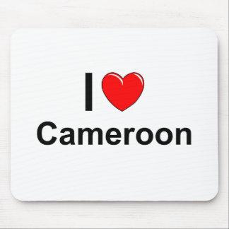 Mousepad Eu amo o coração República dos Camarões