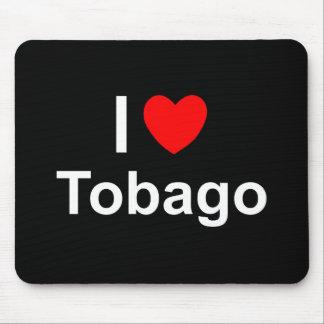 Mousepad Eu amo o coração Tobago