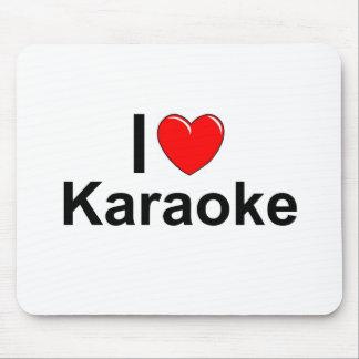 Mousepad Eu amo o karaoke do coração