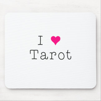 Mousepad Eu amo o tapete do rato de Tarot
