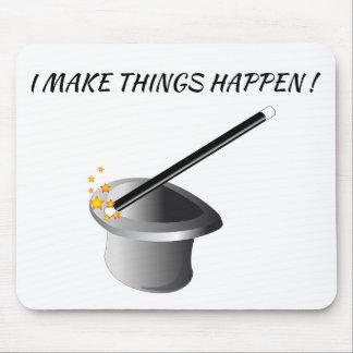 Mousepad - eu faço coisas acontecer!