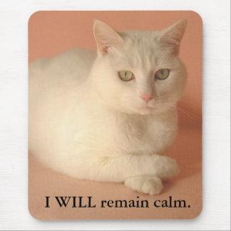 Mousepad EU permanecerei calmo