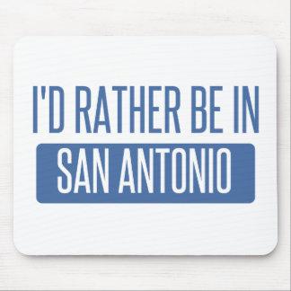 Mousepad Eu preferencialmente estaria em San Antonio