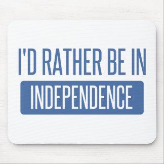 Mousepad Eu preferencialmente estaria na independência