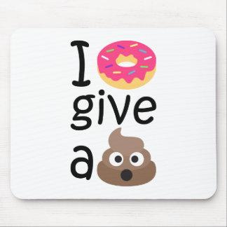 Mousepad Eu rosquinha dou um emoji do tombadilho