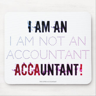 "Mousepad ""Eu sou um ACCAUNTANT """