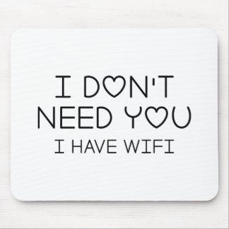 Mousepad Eu tenho Wifi