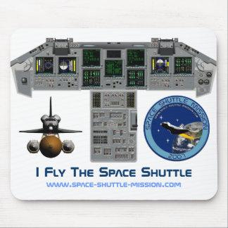 Mousepad Eu vôo o vaivém espacial, cabina do piloto,