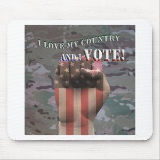 Mousepad eu voto
